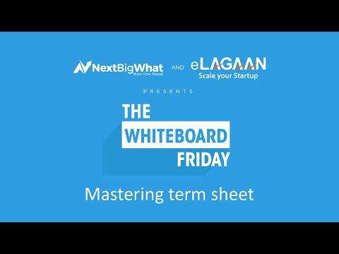 Mastering term sheet [Whiteboard Friday]
