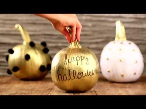 DIY Halloween Pumpkin Decorations | QVC