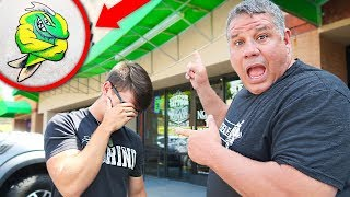 LOSER gets TATTOO (ULTIMATE Fishing Challenge)