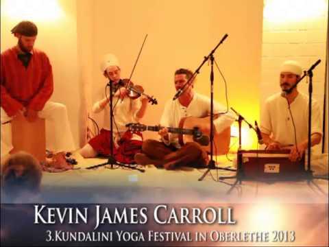 Kevin James Carroll im Ardas Yogazentrum Hamburg am 26.Mai 2013