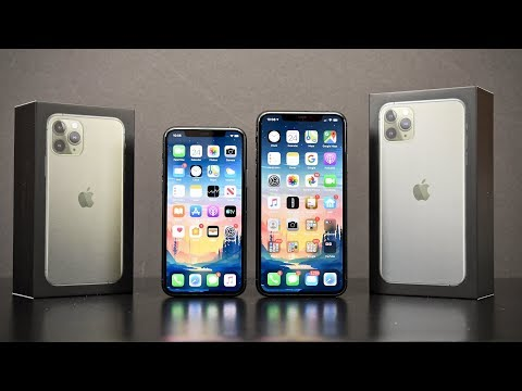 Apple iPhone 11 Pro vs 11 Pro Max: Unboxing & Review