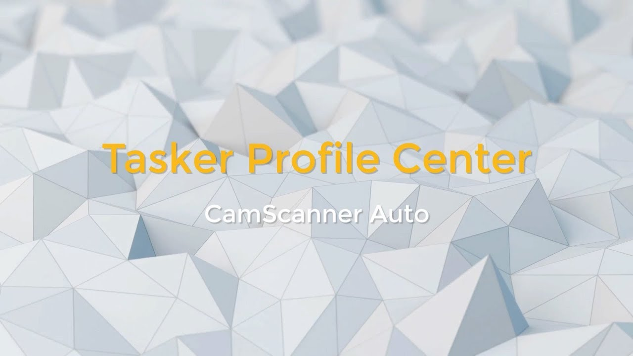 Tasker Profile Center