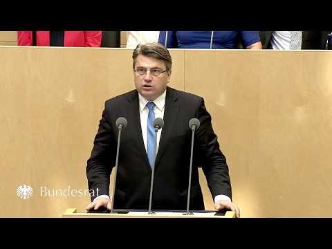 Staatsminister Prof. Dr. Bausback im Bundesrat zur Ausgestaltung des Strafverfahrens - Bayern