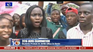 Students Protest Allege Jamb's Infringement On Right To Education