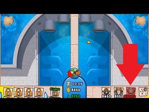 Super Monkey on Hydro Dam? (New Acc BFB) [I MADE A CLAN!] | BTD Battles #53