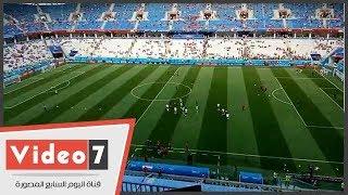 حضور جماهيري ضعيف في مباراة مصر والسعودية