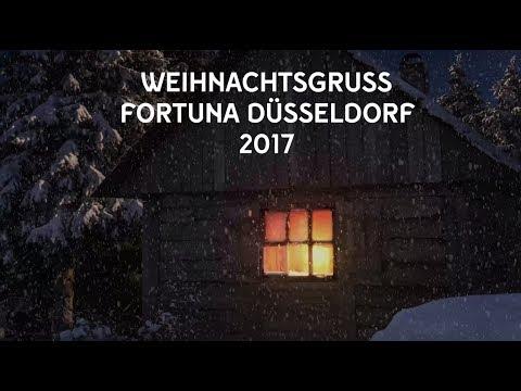 Der Fortuna Düsseldorf Weihnachtsgruß 2017