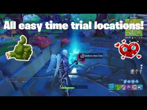 Fortnite Week 3 All Easy Time Trial Locations!