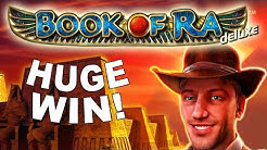 HUGE WIN on Book of Ra Slot - £3 Bet!