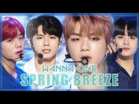 [HOT] Wanna One - Spring Breeze , 워너원 - 봄바람 Show Music Core 20181208