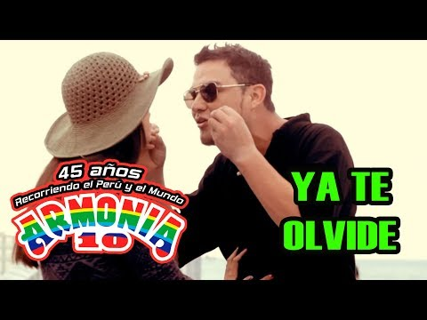 Armonía 10 - Ya Te Olvide (Videoclip)