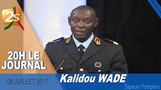 INVITÉ DU JOURNAL DE 20H : KALIDOU WADE SAPEURS POMPIERS