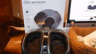 Miko Shiatsu Home Foot Massager Unboxing & Review
