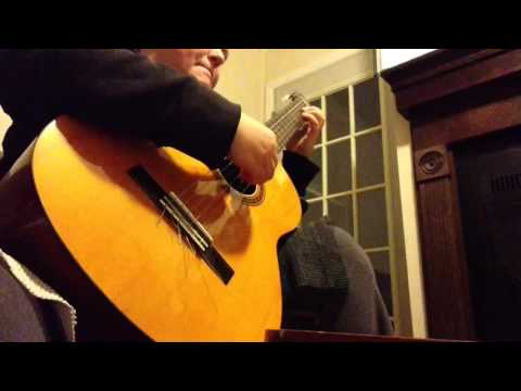 Simple Gifts - Shaker Hymn (classical guitar)