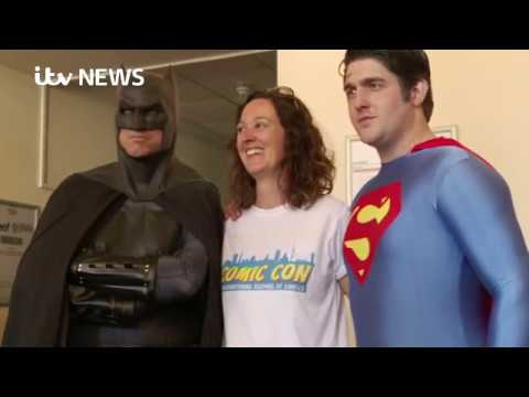 ITV Meridian News Report - Portsmouth Comic Con
