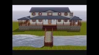 Sims 3: Carolina Island Inspired