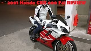 2001 Honda CBR 600 F4i REVIEW