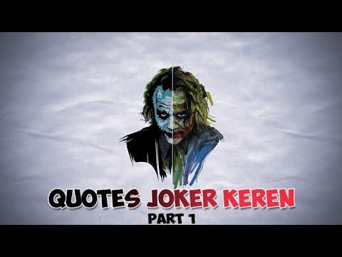 32+ quotes joker bahasa indonesia keren - rudi gambar