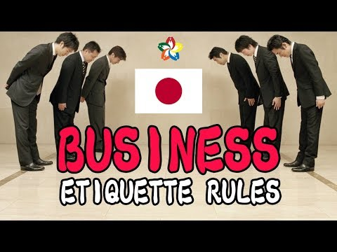 Business Etiquette Rules You Should Know in Japan
