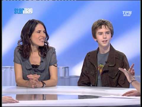 "Interview de Freddie Highmore ""August Rush"" 1/3"
