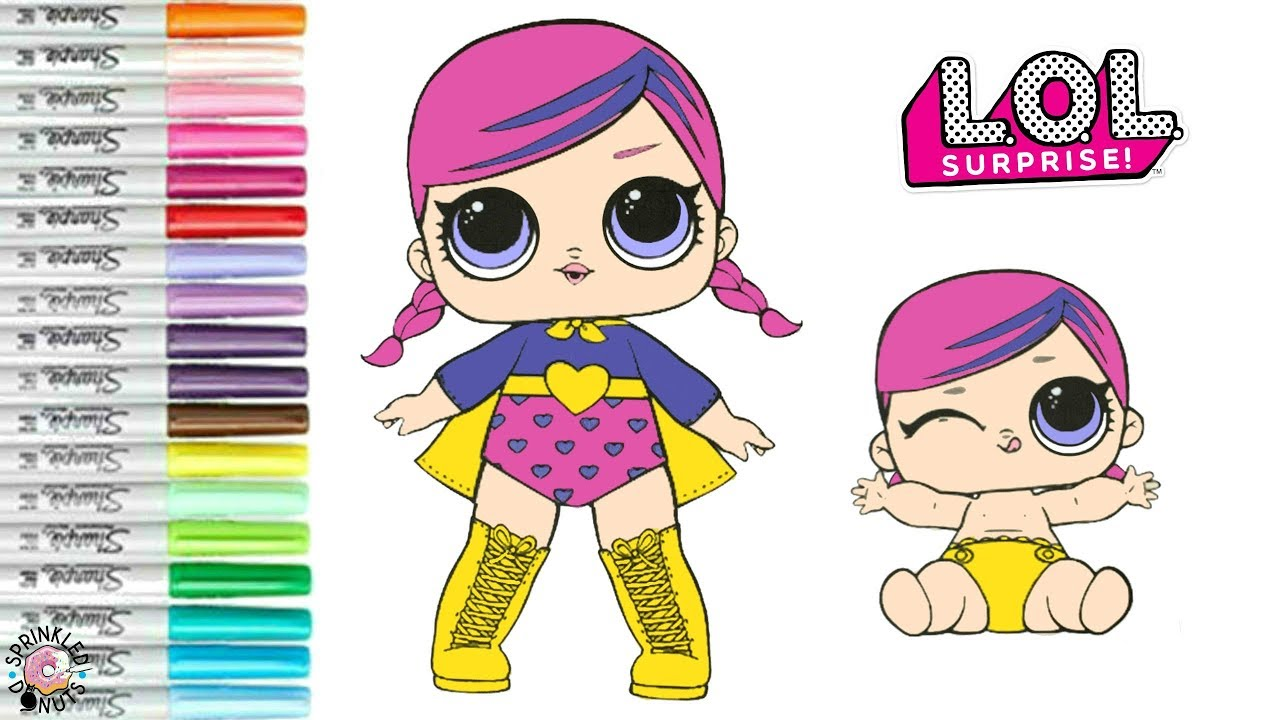 download lol surprise coloring pages drawing lol bebe