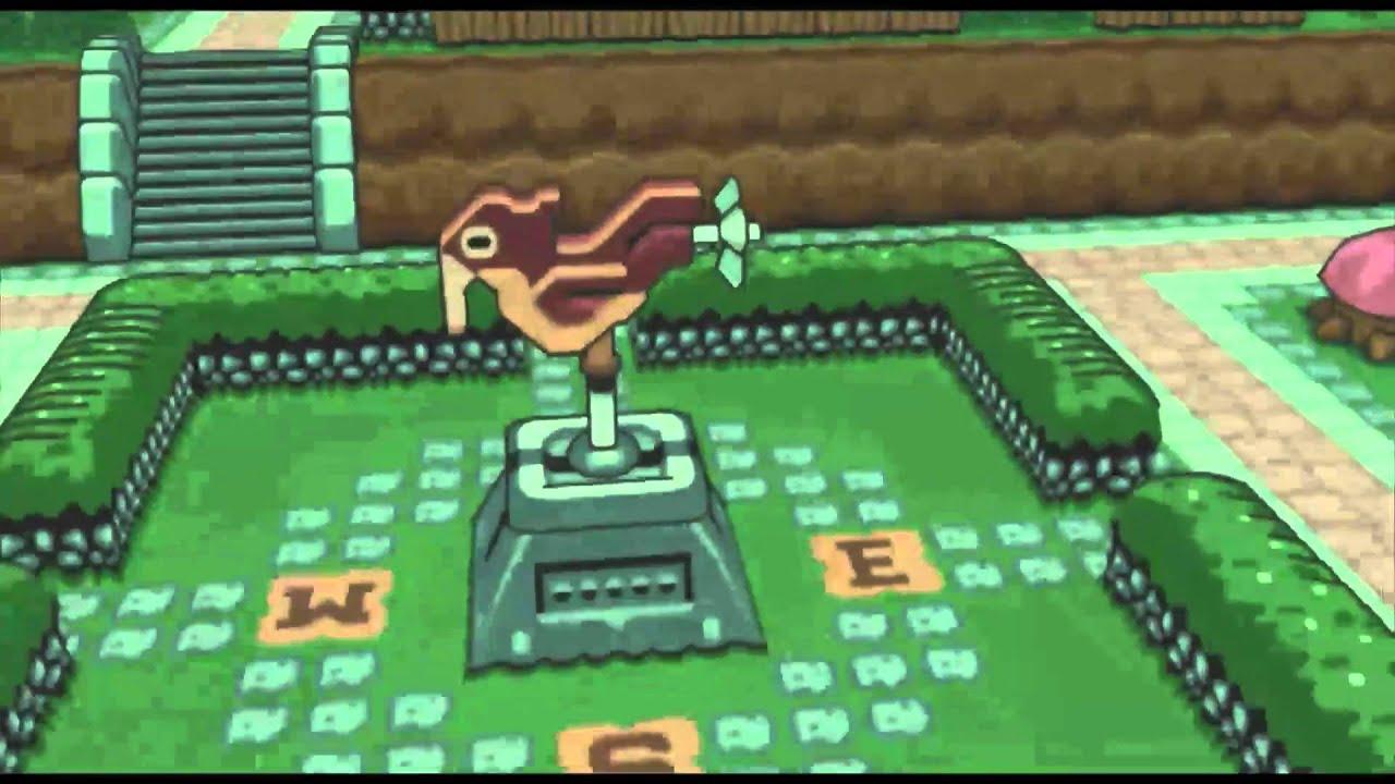 Zelda Link Past Map