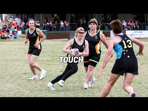 2018 Pan Pacific Masters Games | Touch