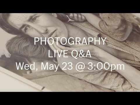 You're invited: LIVE Q&A with Photography Curator Sarah Meister (May 23) – Send us your questions!