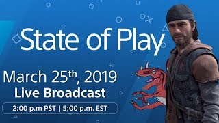 PlayStation State Of Play Reaction LIVE - New PS4 Games, Potential New Days Gone Trailer & Way More!