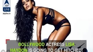 In Graphics: Bollywood actress Lisa Haydon announces her marriage
