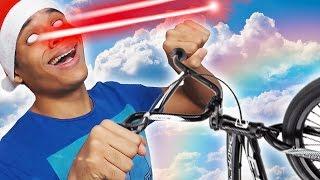 SUPERMAN FAIT DU VÉLO ლ( ◕ ᴥ ◕ ლ) NOËL (21/25)(, 2016-12-21T12:08:01.000Z)