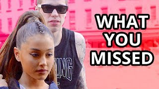 7 Signs You MISSED That Ariana Grande & Pete Davidson Were Going To Break Up
