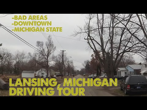 I Drove Though Lansing, Michigan. This Is What I Saw.