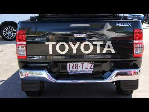 2013 Toyota Hilux KUN26R MY14 SR5 Double Cab Black 5 Speed Manual Utility
