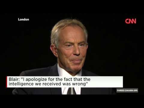 Former UK Prime Minister Tony Blair on ISIS & Iraq