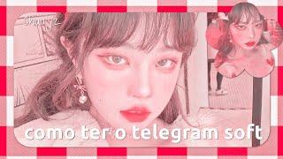 𖦹𓈒🌷੭࣪ 𖥻݂𝆬como ter o telegram soft {primeiro vídeo no canal kkk) screenshot 4