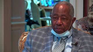 Remembering Hank Aaron: His final interview