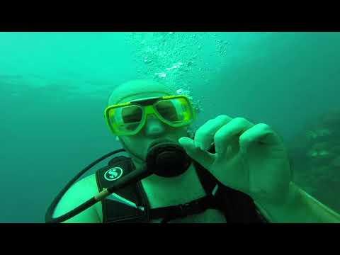 Scuba Diving Near Guadalcanal, Solomon Islands