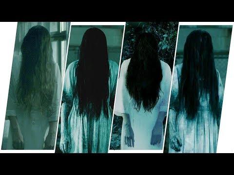 The Ring Evolution in Movies & TV. (Sadako & Samara)