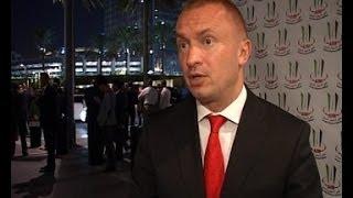 09.04.2014. - Bojan Pajtić o nagradi dobijenoj na Sajmu investicija u Dubaiu