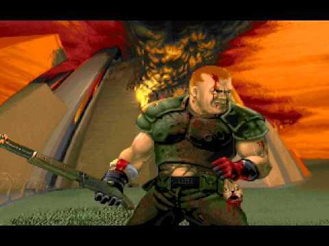 Ultimate Doom - Thy Flesh Consumed - Ending.avi