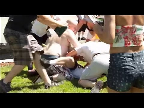 Preacher Attacked At Seattle Gay Pridefest 2013