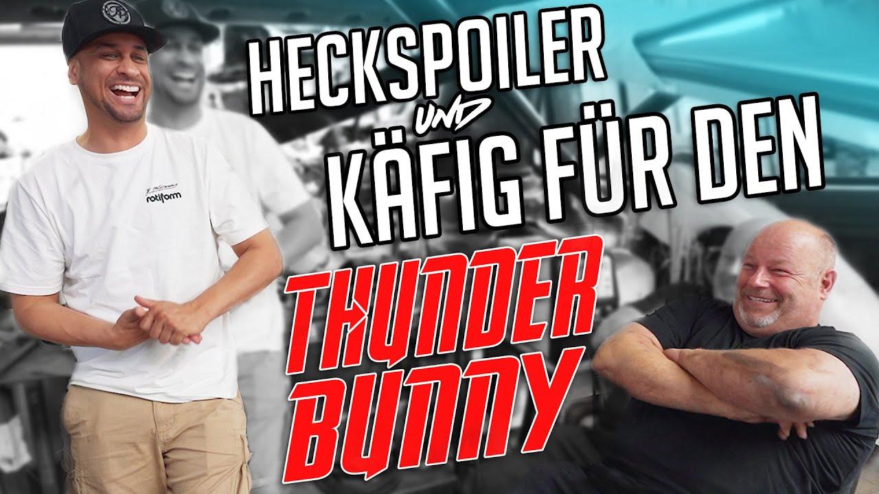 JP Performance - Heckspoiler und Käfig für den Thunderbunny!
