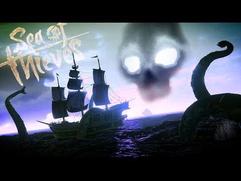 HUNTING DOWN THE KRAKEN! - The Kraken Awaits! (+ Kraken's Fall Island) || Sea of Thieves Gameplay