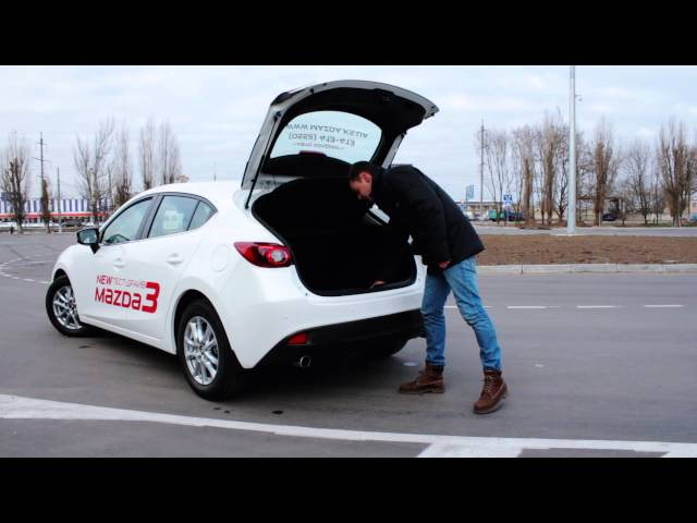 Тест-драйв Mazda 3 2014