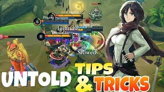 HOW TO PLAY FANNY AFTER NERF! | UNTOLD TIPS AND TRICKS