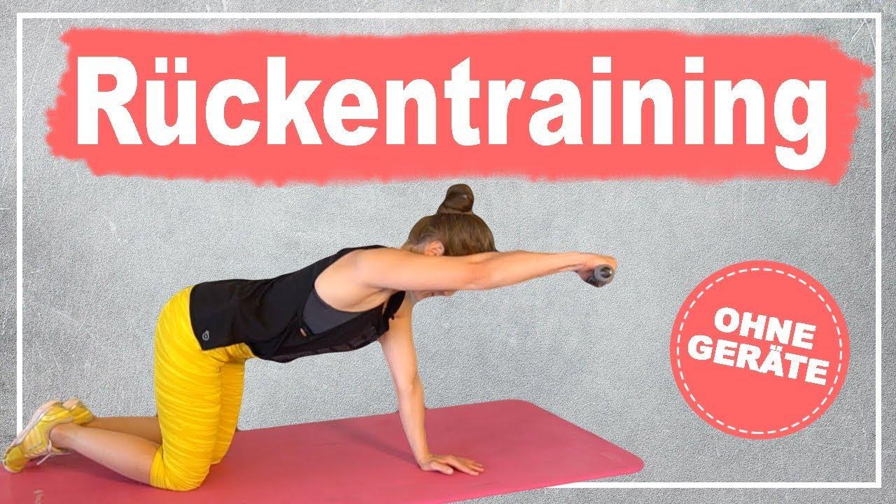 Rückentraining für zu Hause Rückenübungen ohne Geräte