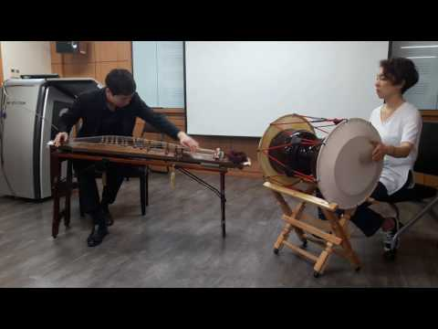 Gayageum Sanjo performed by Park Jong-chan and Shim Un-jeong