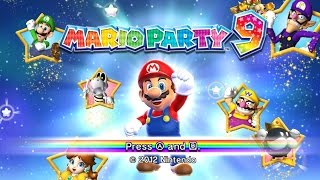 Mario Party 9 gameplay Nintendo Wii emulator Dolphin