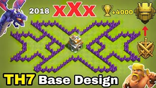 TH7 xXx Base design | TH7 TRIPLE X BASE DESIGN BEST BASE DESIGN 2018.